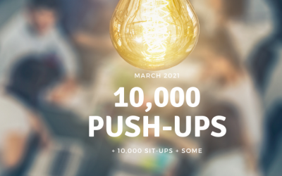 Day 1: 10,000 Push-ups + some with Bill McCleskey