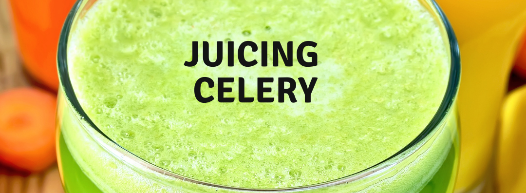 Day 15 of 10,000 push-ups: Juicing Celery